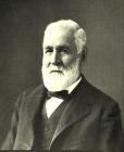 "Famous ""mountain"" steamboat pilot Joseph Marie LaBarge (1815-1899)"