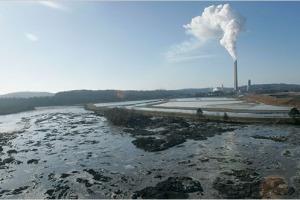coal ash sludge