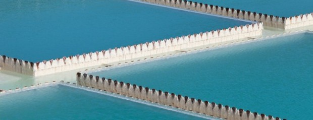 A small part of the Kansas City water treatment plant, which transforms the silty Missouri River into drinking water for a huge metropolitan area. photo courtesy of Kansas City Water Services
